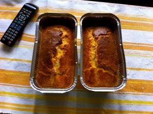Bizcocho de naranja y vainilla integral receta fácil
