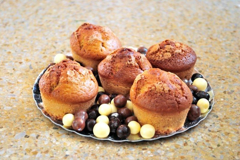 Muffins de turron