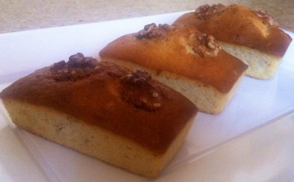 Miniplun-cake de nuez