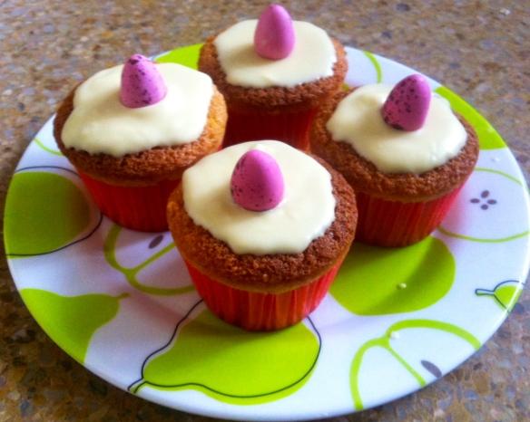 Muffins almendra & chocolate