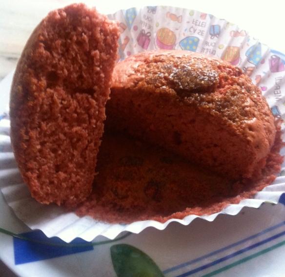 Muffins de fresa light1