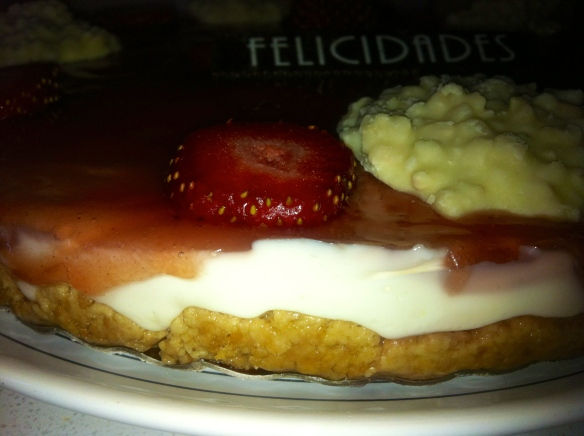 Tarta de queso & fresas1