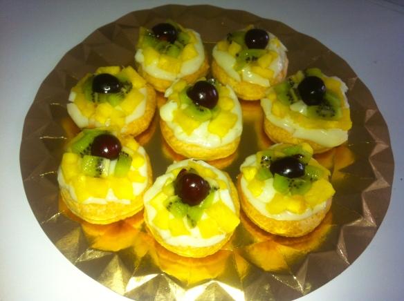 Cakes de fruta