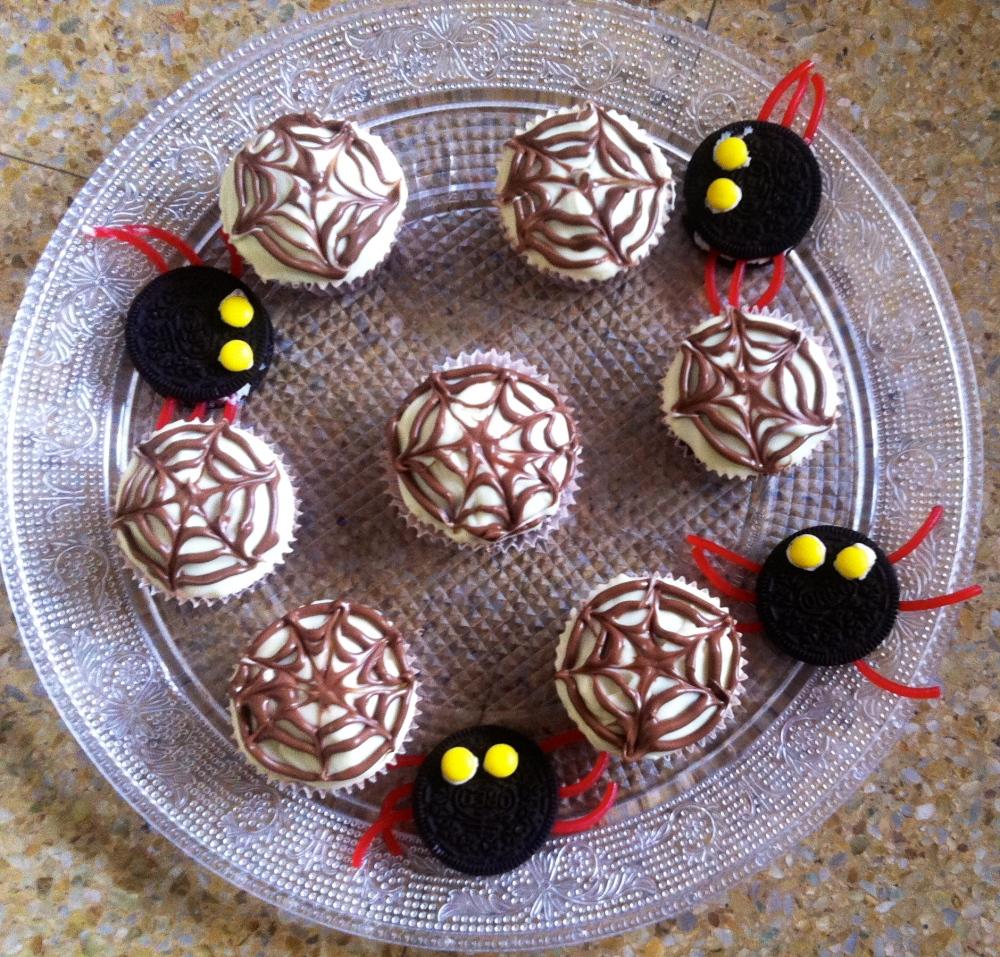 muffins Telas de araña