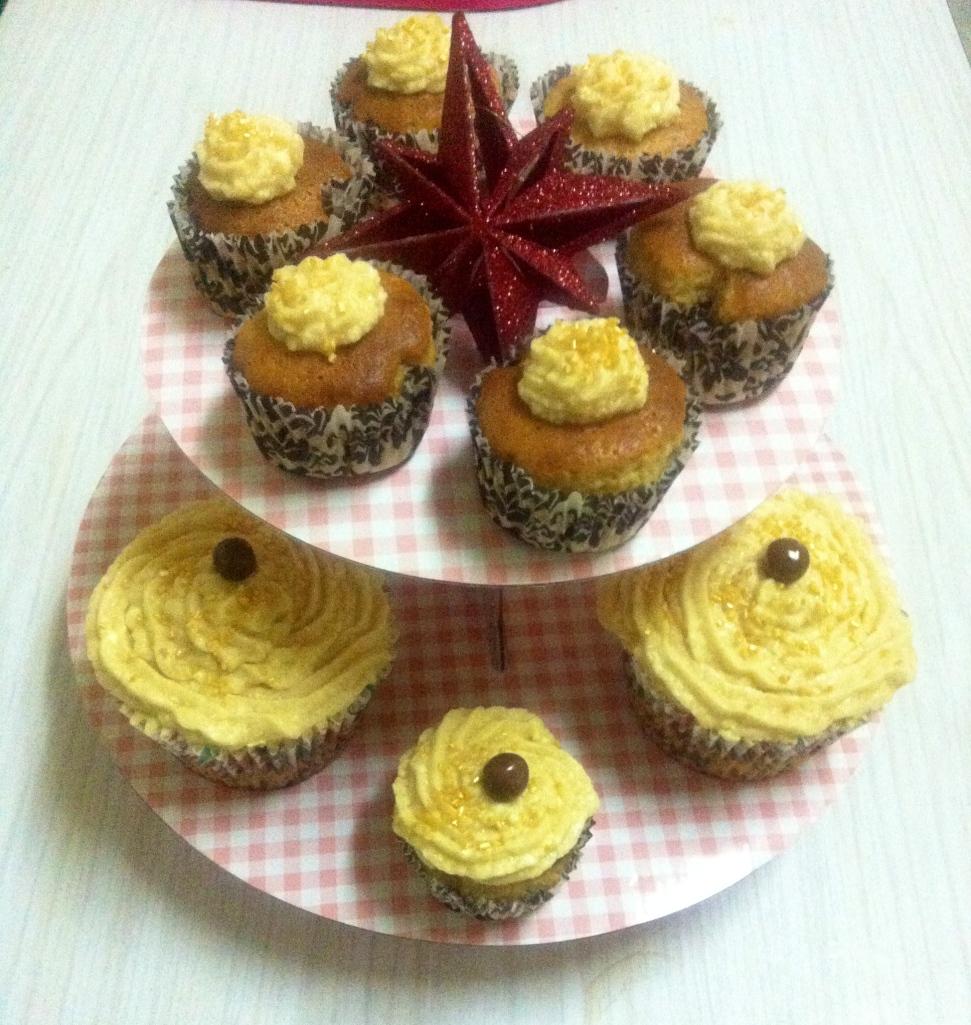 Cupcakes de turron