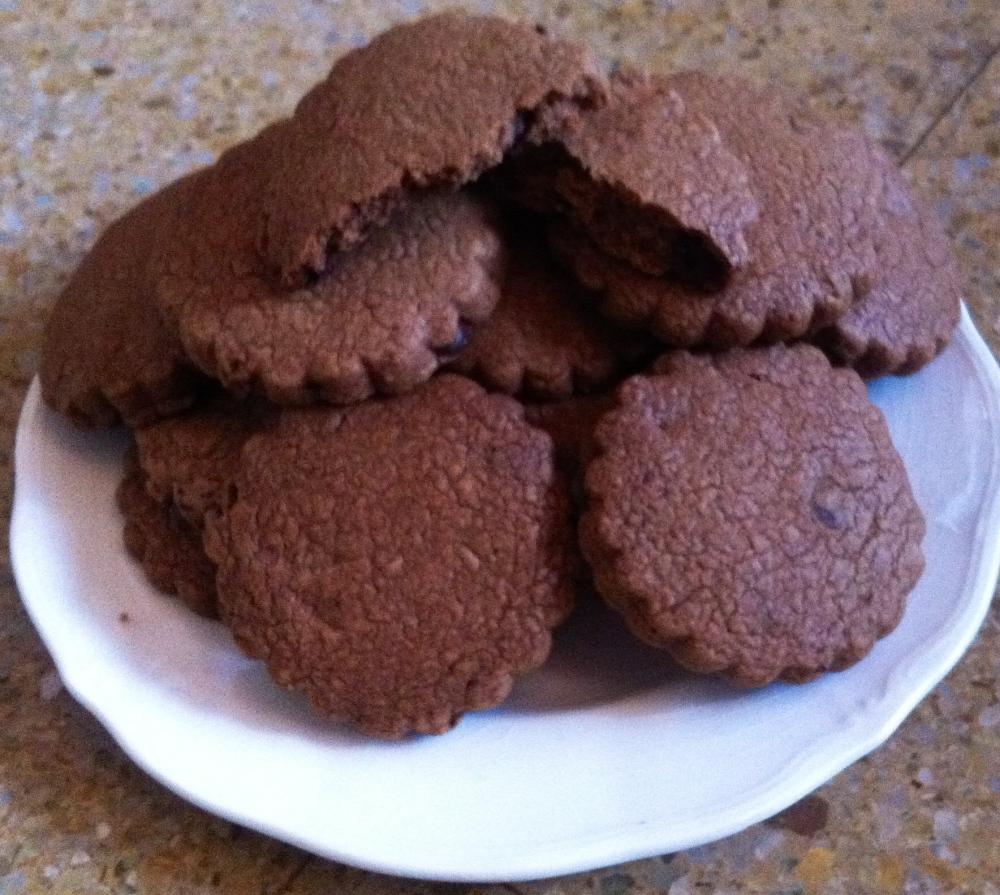 Cookies doble chocolate