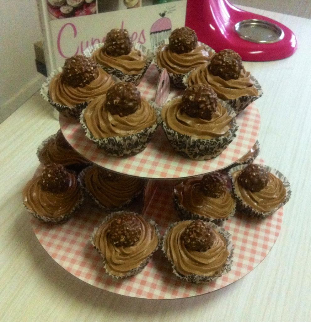 Cupcukes choco-avellana