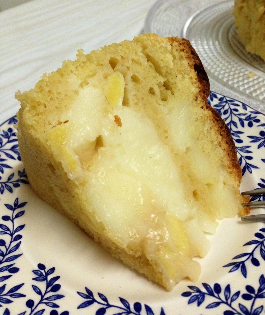 Pastel de manzana & crema1