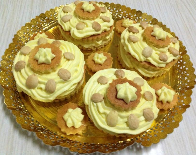 Pastelitos de Nata-Limon