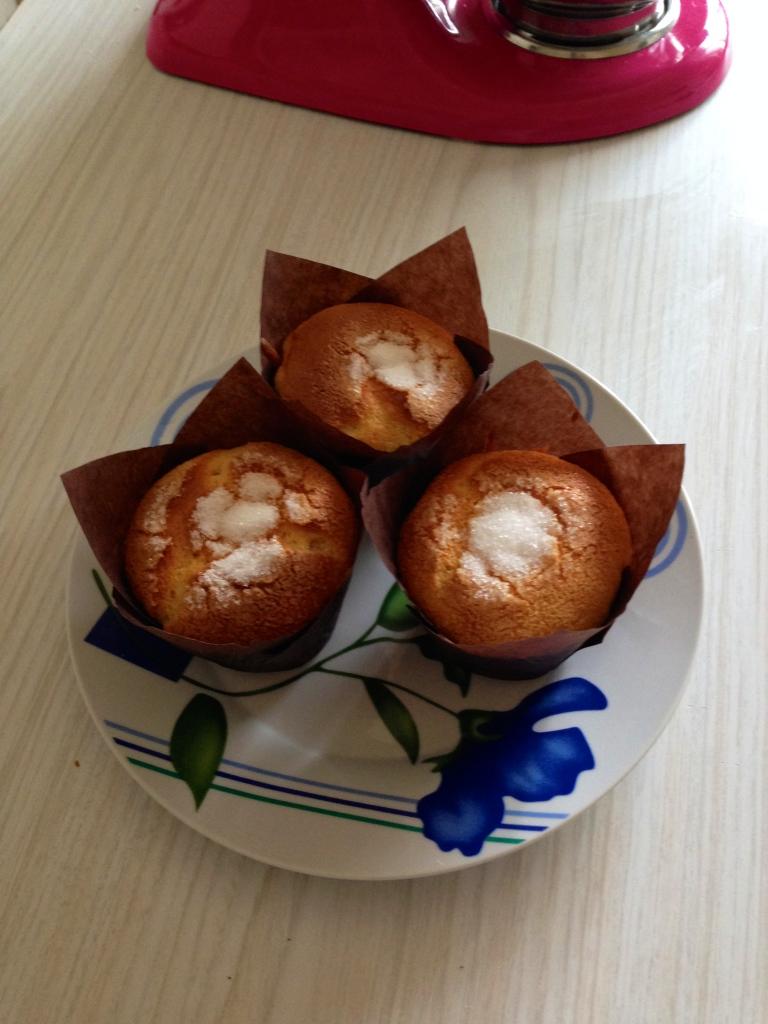 Muffins de leche condensada