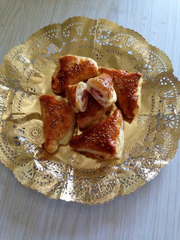 Pañuelos de Jamon yorj & queso