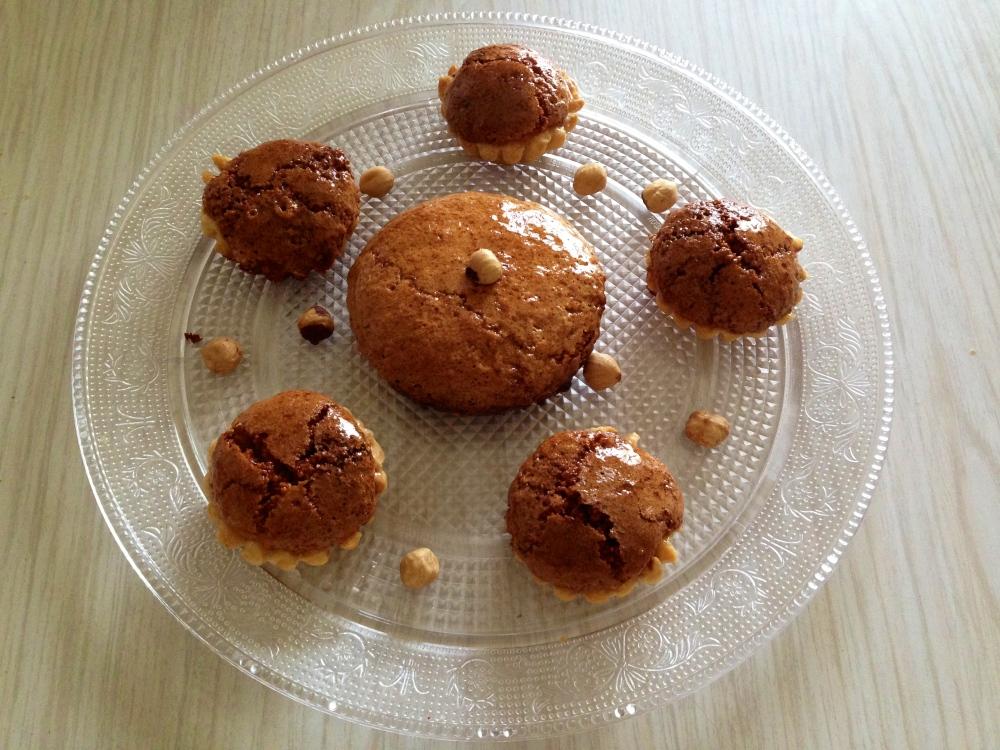 Pastelitos de avellana
