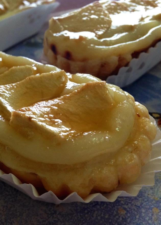 Canoas de crema & manzana1