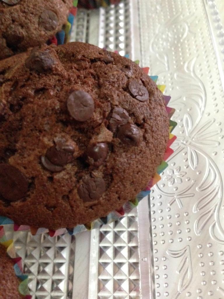 Muffins doble choco1