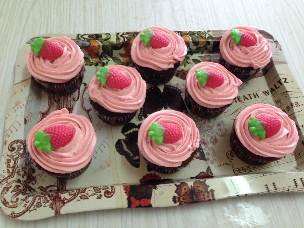 Cupcakes Chocofresa