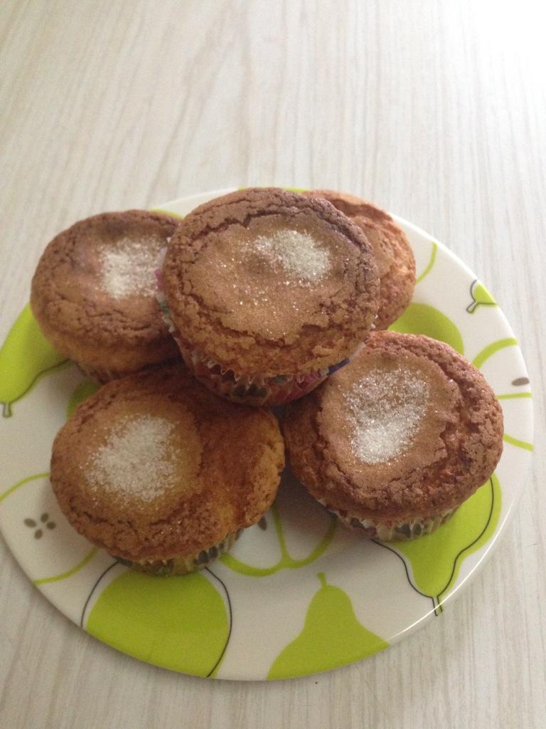 Muffins de platano
