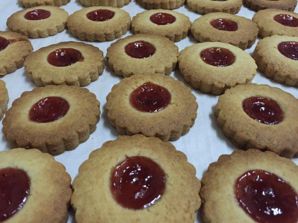 Cookies de queso & fresa