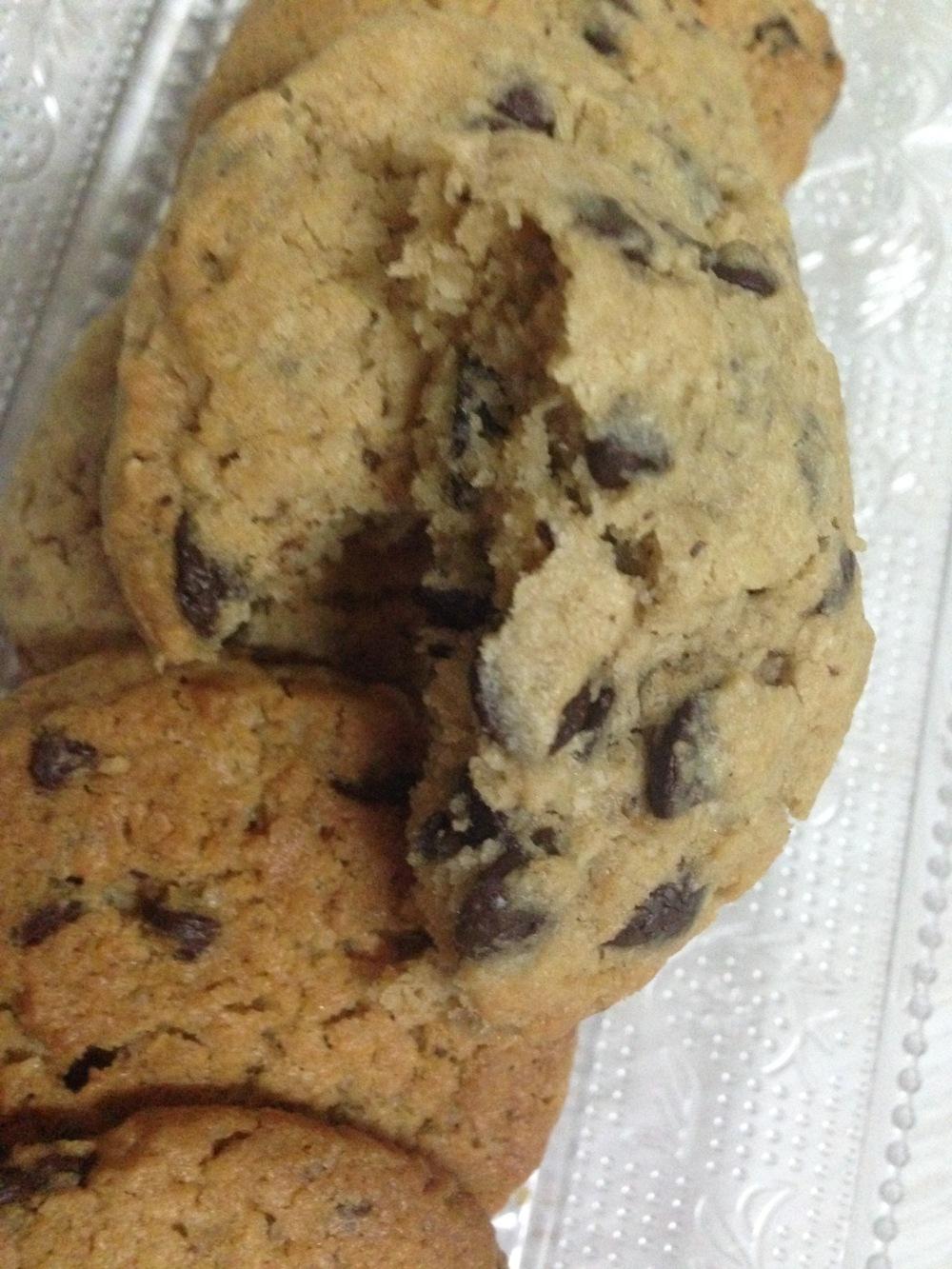 Muffins de coco & chocolate1