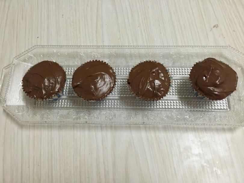 Magdalenas antiguas al chocolate
