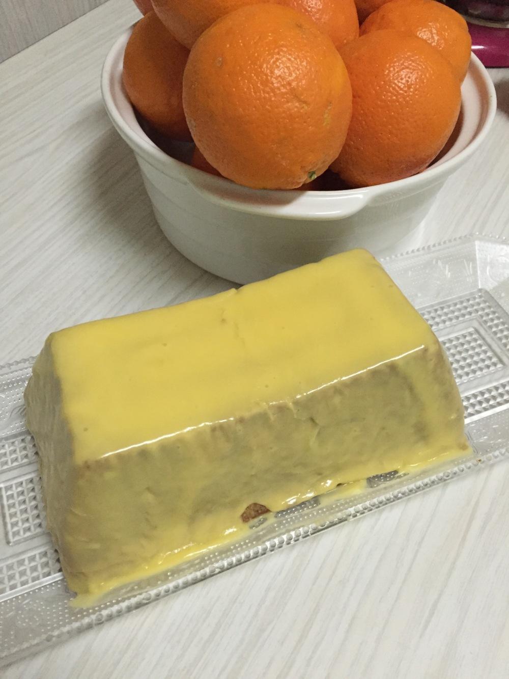 Pound naranja & nuez