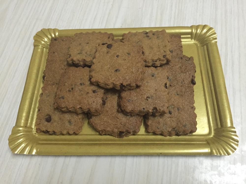 Cookies de platano & chocolate