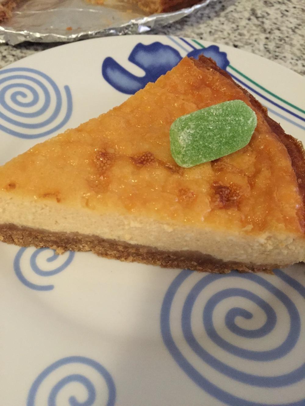 Tarta de queso al Baileys1