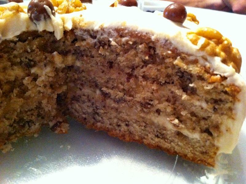 Cake de nuez & cafe1